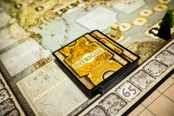 Lords of Waterdeep board game | photograph by Brian J. Matis