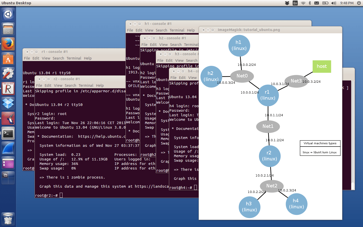 Install the VNX network simulator | Open-Source Routing and Network