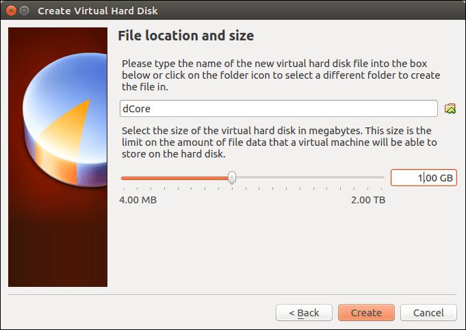 Set disk size