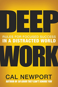 Book cover of Deep Work