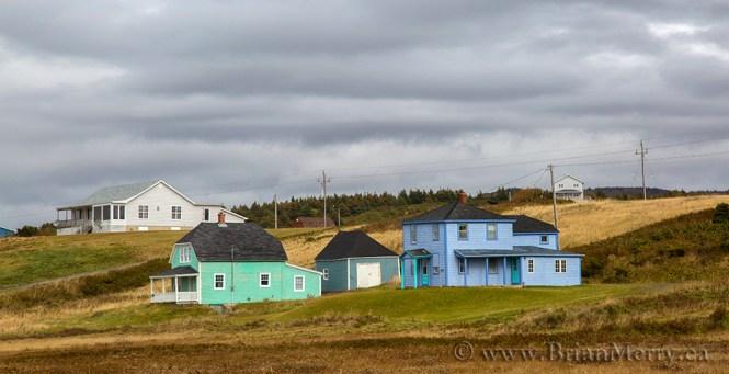 A beautiful Fall scene close to Cheticamp, Cape Breton Island