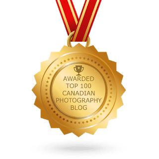 It's an Honour to Win the 5th Most Read Outdoor Photography Blog award in Canada