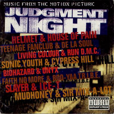 Cover to Judgment Night (Epic, 1993); image courtesy of brianorndorf.com