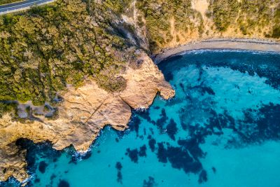Hidden Cove Mt Martha - Aerial Artwork
