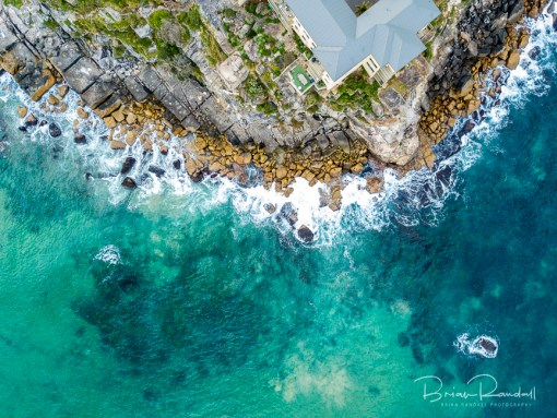 Queenscliff Point - Aerial Artwork