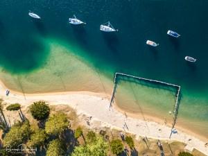 Sea Pool - Aerial Artwork