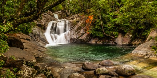 Cairns Waterfall - Aerial Artwork
