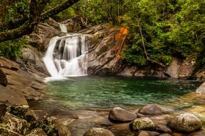 Cairns Waterfall - Aerial Artwork