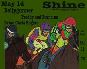 bellygunner and brian rogers green flier
