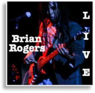 brian rogers live album cover