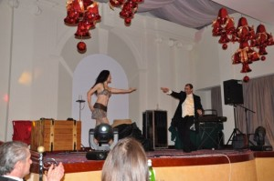 Brian role` and Lola Palmer perform at the Grand Hotel
