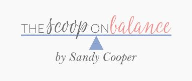 this is the blog logo of the scoop on balance which has a great article on helping your kids deal with those who are being mean to them