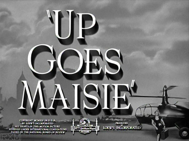 Maisie - Up Goes Maisie (1946) - Coins in Movies
