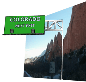 Colorado Next exit
