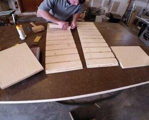 Glueing Plywood into dadoes