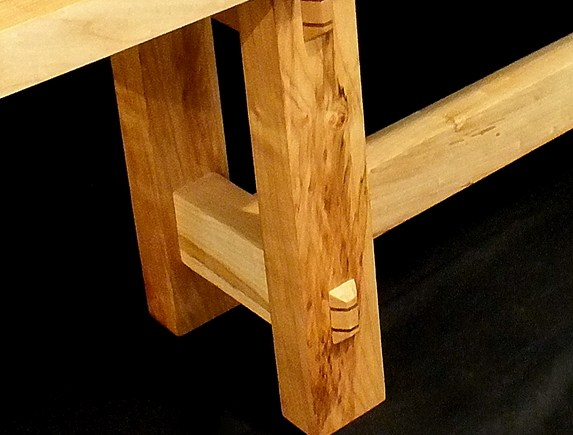 Maple Bench Legs