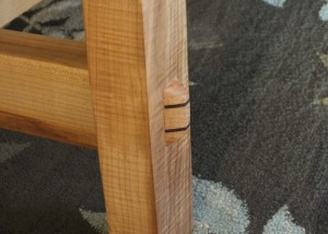 through arts and crafts tenon