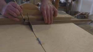 Cutting Small parts on a table saw crosscut sled
