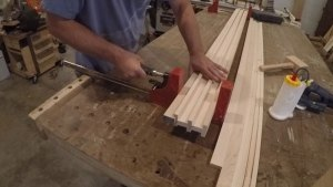 clamping wood