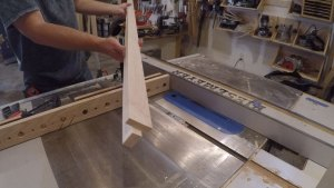 2 step process final notch cut on table saw