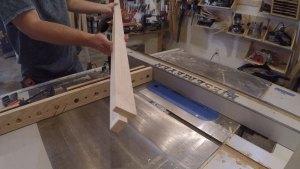 2 step process final notch cut on table saw