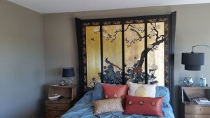 Chinese Inspired Headboard