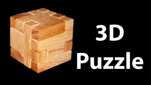 how to make a 3d wooden puzzle