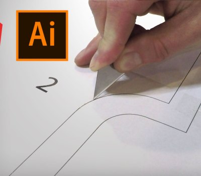 how to make a print to scale template