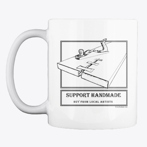 Support Handmade Coffee Mug