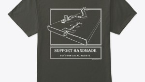 Support Handmade T shirt
