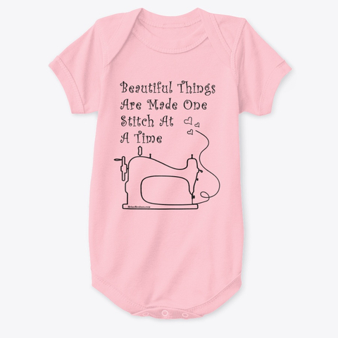 Sewing for babies tee shirt and onesie