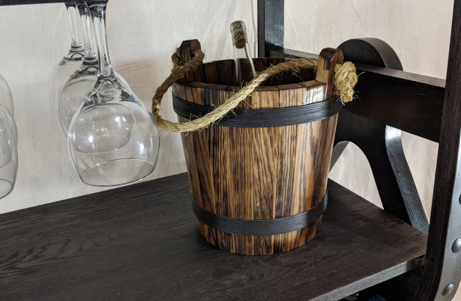 Wooden Ice Bucket