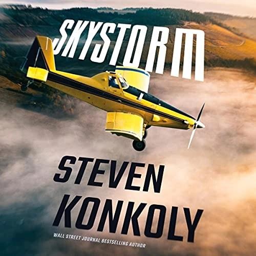 Skystorm Audiobook Cover