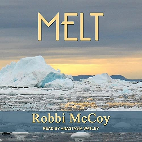 Melt Audiobook Cover (water with icebergs in it)