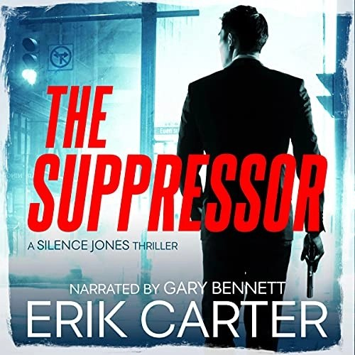 The Suppressor Audiobook Cover