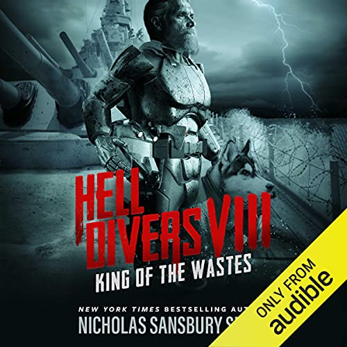 Hell Divers 8 King of the Wastes Audiobook Cover