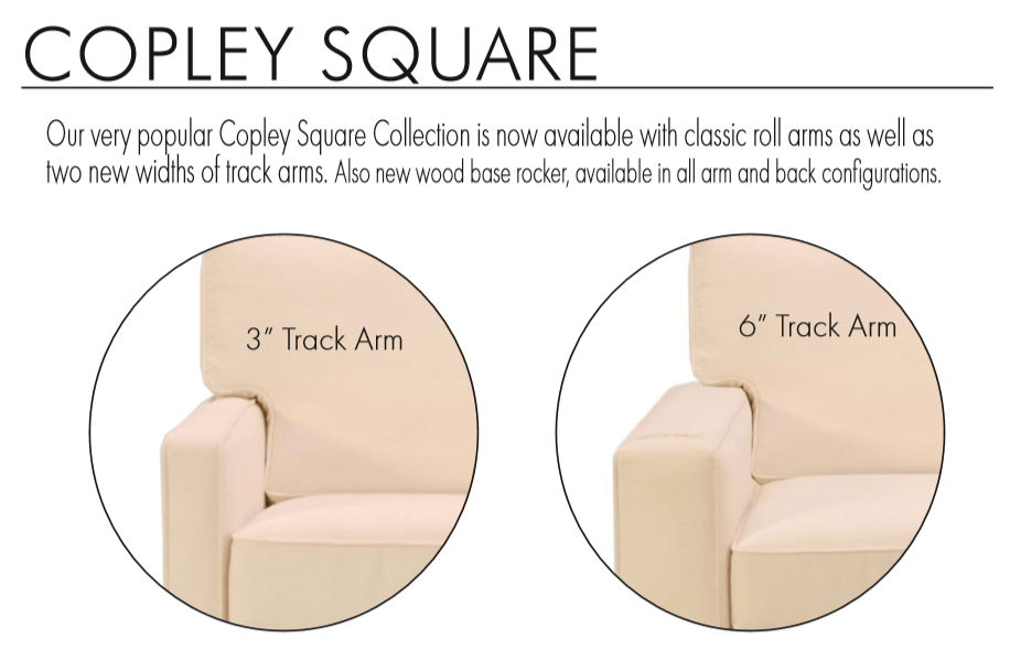 Copley Square New Arm Choices