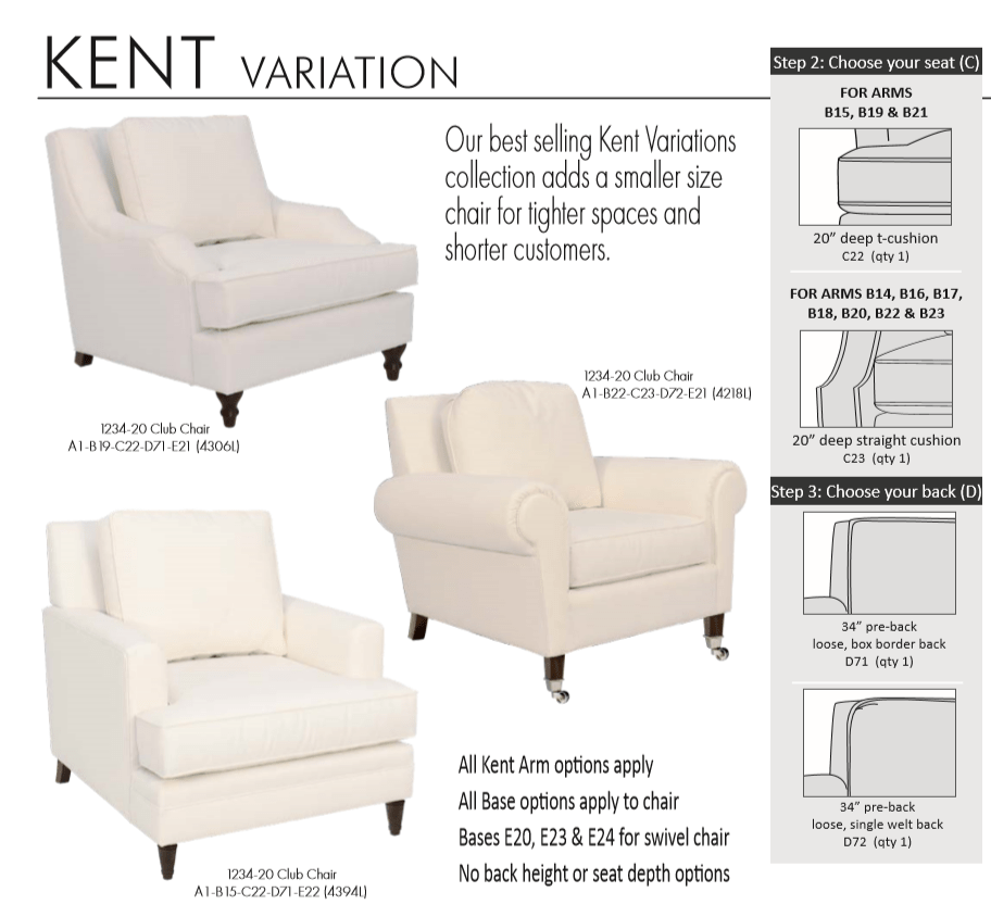 Kent Small Scale Chairs