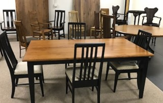 Shaker Dining Table & Mission chairs