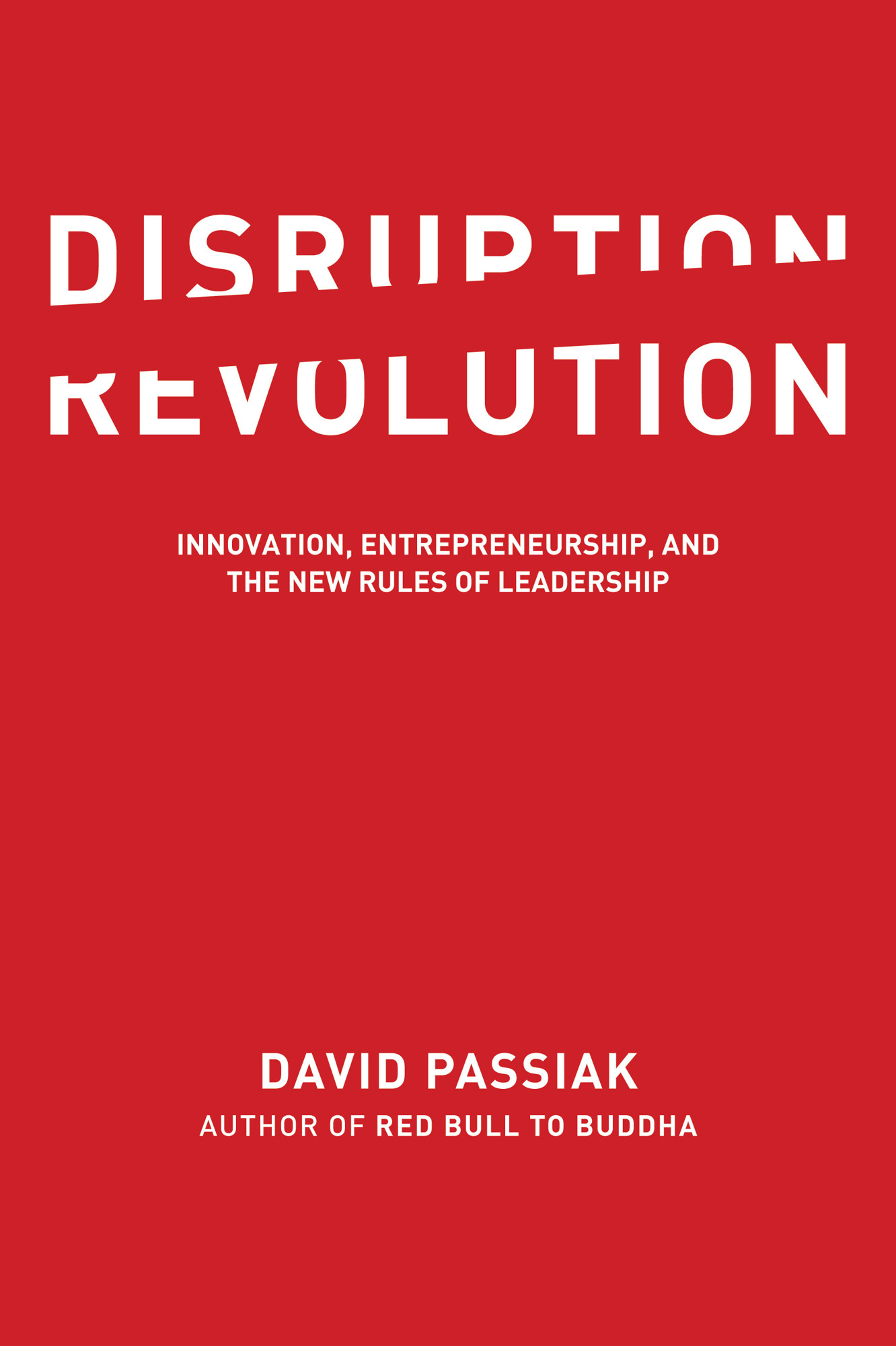 Disruption Revolution Cover