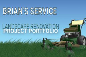 Brians' Service Landscape Renovation Portfolio Category Image