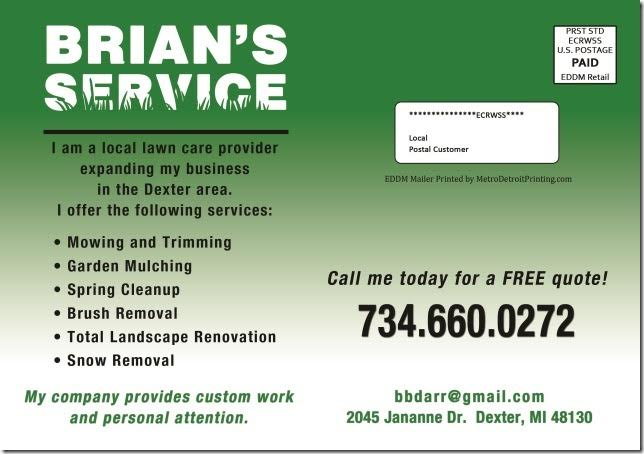 EDDM MAiler Brians Service img