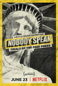 Nobody Speak Poster