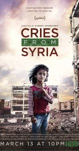 Cries From Syria Poster