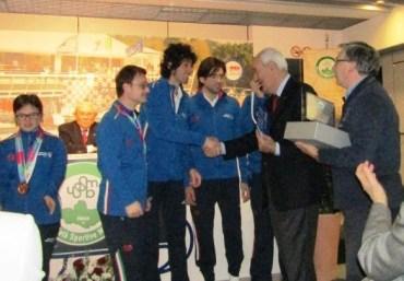 USSMB consegna Stella e Insegne d'Oro 2015 Special Olympics