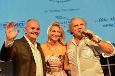 Sporting Club Monza 50° l'avvocato Cappuccio con Federica Fontana e Jerry Calà