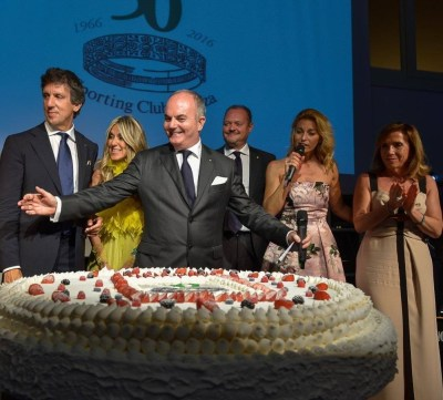 Sporting Club Monza 50° taglio torta
