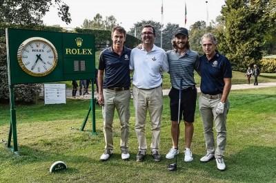La squadra vincitroce della Rolex Pro-Am foto@claudioscaccini