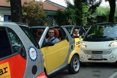 L'avvento della prima serie Smart, all'Autodromo per Motormonza