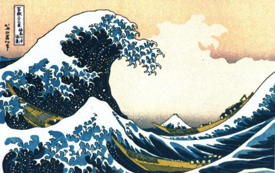 La vague d'Hokusai